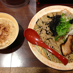 みなとや - 濃厚鶏つけ麺(麺大盛り)