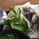 茶店はしもと - 天ぷら美味い‼︎