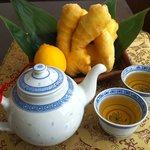 CHINA TABLE 花木蘭 - 料理写真:オリジナル生姜湯できました★ 生姜パワーでパワフルに!!