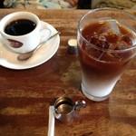 ブラジルコーヒー - アイスオーレとブレンドコーヒー