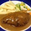 ショー・ラパン - 料理写真:ハンバーグ マハラジャカレーソース
