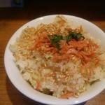 niboshichuukasobasuzuran - 炊き込み飯(\100)
