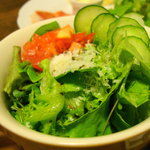熊谷珈琲 - (サラダ付き)のサラダとは思えない「サラダ」