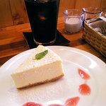 Cafe Palmyra - チーズケーキ