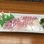 Michinoekimaidurukoutoretoresenta - 真鯛の刺身
