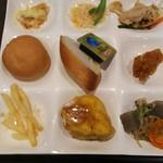 ハーベストガーデン - グラタン、ポテト、パン、
