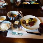 いけだ - 天ぷら御膳、1400円