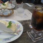 アルゴ - アイスコーヒーと自家製チーズケーキ