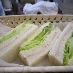 琥珀亭 - サンドイッチ