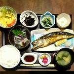 53701018 - 鯖の一夜干し定食 (限定5食)