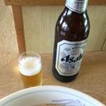 レストランぱあぷる - 瓶ビール