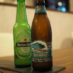 スペインバル ラパエラ - Heineken&BIG Wave       ¥500