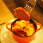 スペインバル ラパエラ - アルボンディガスの肉       ¥800