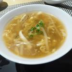 中国料理 「王朝」 - 酸辣湯(サンラータン)