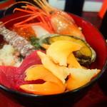 うなぎ 米花 - 海鮮丼