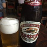 酔来軒 - 瓶ビール