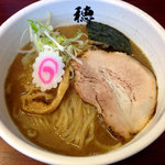 穂し乃 - 料理写真:らーめん730円