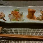 創作料理と京野菜のびすとろ キザノ - 「前菜盛り合わせ」