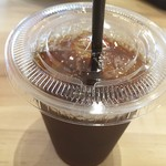 ホップ&ステップ カフェ - アイスコーヒー(370円)