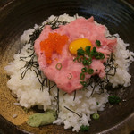 53713368 - 日替わり定食(ねぎとろ丼) ¥800 のねぎとろ丼