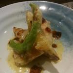 創作料理と京野菜のびすとろ キザノ - 黒鯛のポアレ