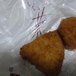 いい菜&ゼスト - アジフライ(120円)+コロッケ(50円)