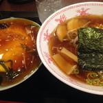 53717456 - 天津丼&醤油ラーメンセット