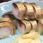 53717852 - 鯖棒寿司 絶品
