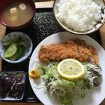 ほづみとんかつ店 - ロースカツ定食小(120g)【800円】