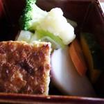 cafe Shizuku - 豆腐ハンバーグ