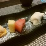 創作料理と京野菜のびすとろ キザノ - デザート(4種)