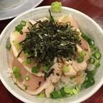 翔鶴 高崎店 - 鶏たたき丼【330円】