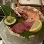 Ocean Grill noov - お刺身3種盛り