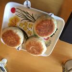 カフェいろはな - 料理写真:美味しいおやき。