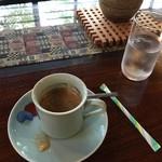 53722374 - 境内命の水を使ったコーヒー