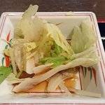 日本橋焼餃子 - 日本橋焼餃子 西葛西店 ランチ定食に付く野菜サラダ