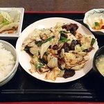 日本橋焼餃子 - 日本橋焼餃子 西葛西店 ランチ ホイコーロー定食 650円(税込)