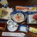 三城寿司 - 宴会コース(2016 7 17)