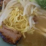秀楽 - 麺中太麺ちぢれ