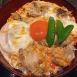 53726480 - 究極の親子丼 1480円+ご飯大盛り+100円