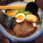 AFURI - 醤油らーめん+煮玉子