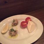 アンシャンテ - バイ貝の白ワイン蒸し