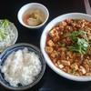 Ryuusei - 料理写真:ランチ 本格四川麻婆豆腐 750円 ご飯おかわり自由。