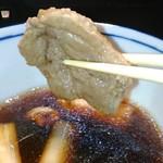 入母屋 - [料理] 鴨出汁 鴨肉のアップ♪w