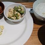 Cafe&Meal MUJI - 選べるデリ3品    850円