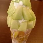 芳川屋 - 季節のフルーツパフェ