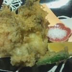 53731974 - 佐渡産牡蠣の天ぷら 750円 ジューシー&クリーミー!