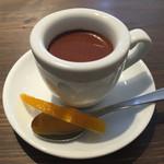 アーティチョーク チョコレート - カカオエスプレッソ ピールを添えて
