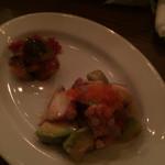 アンシャンテ - タコとあぼかどのサラダ、右