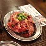 大衆焼肉酒場 ロマン - 250gのボリューム食べ応え充分です